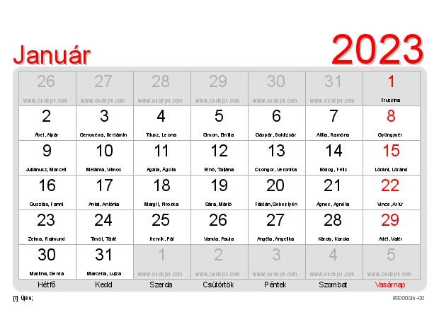 2019 naptár névnapokkal ONDEPU | Nemzetközi naptárszerkesztő 2019 naptár névnapokkal